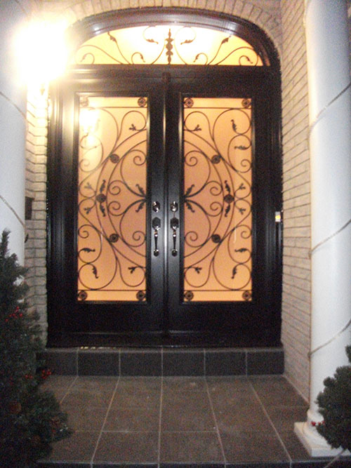 Wrought Iron Doors Front Entry Doors Fiberglass Doors