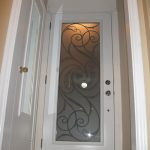 4- Wrought Iron Exterior Door with Iron Art Design Installed by Windows and Doors Toronto