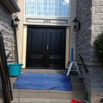 Doors Executive Wood Grain Doors with Multi Point Locks Installed by Windows and Doors Toronto