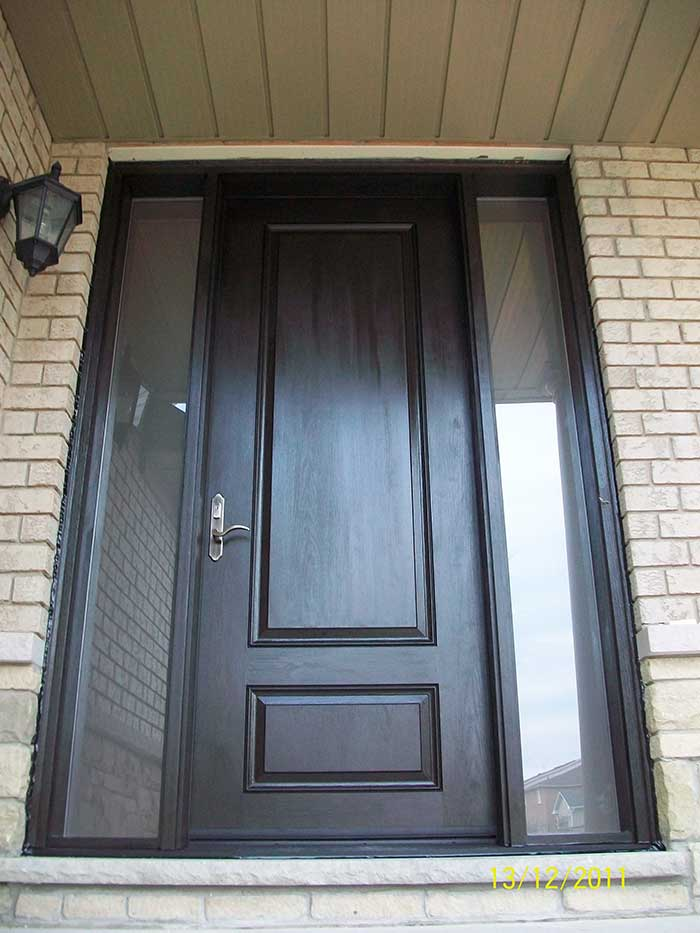 Front entry doors fiberglass doors modern doors executive for 8 foot exterior doors