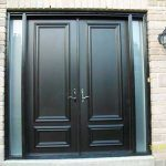 Executive Doors 8 foot Smooth Solid Doors installed in Vuaghan by Windows and Doors Toronto