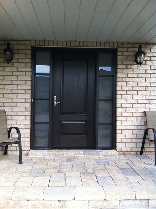 Fiberglass Doors Front Entry Doors Wood Grain Door With