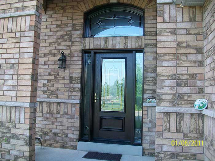 Front Entry Doors Exterior Doors Wood Grain Door