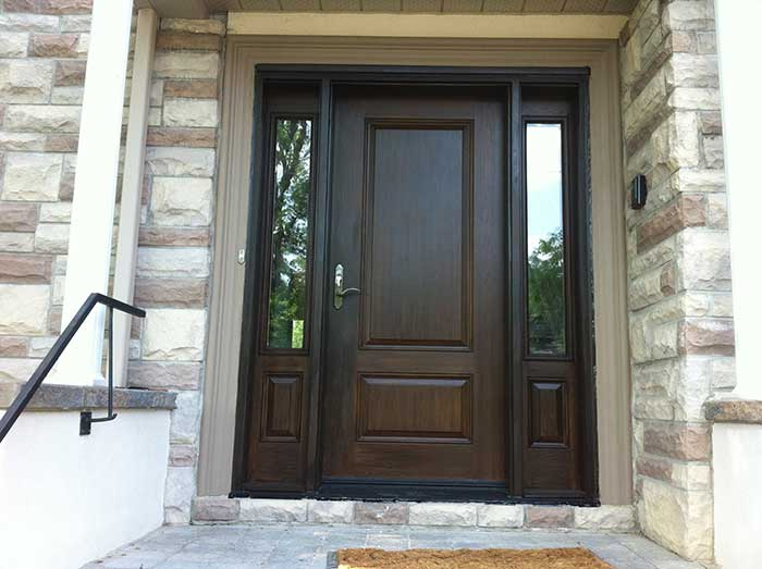 Woodgrain Door Front Entry Doors Fiberglass Doors Solid