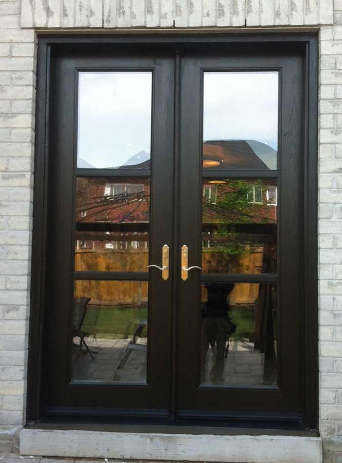 Fiberglass Doors Front Entry Doors Modern Doors Woodgrain Exterior Doors Flus