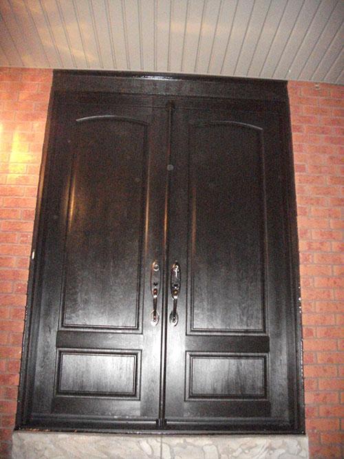 8 foot fiberglass doors for 8 foot front wood doors