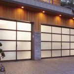Aluminum and Glass Garage Doors Installation by 8 Foot Fiberglass Garage Door-Panel 9800 Horizontal installaed by Windows and Doors Toronto