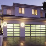 Aluminum and Glass Garage Doors by 8 Foot Fiberglass Garage Door-Panel 9800 Horizontal installaed by Windows and Doors Toronto