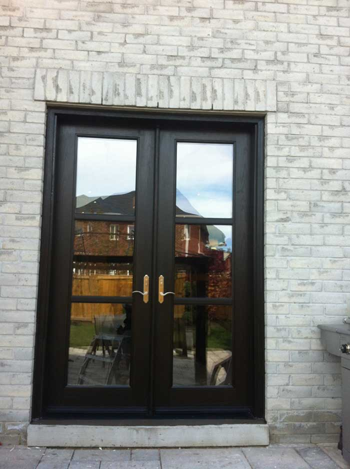 Windows and doors toronto custom doors fiberglass french for 8 foot exterior doors
