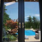 Custom Doors, French-Doors-8-Foot-Fiberglass-Back-Yard-with-Multi-Point-Locks-Installed by Windows and Doors Toronto-in-Richmondhill