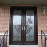 Custom Doors, Milan-Design-8-Foot-Fiberglass--Door-Installed by Custom Windows and Doors Toronto-in-Woodbridge-Inside-View