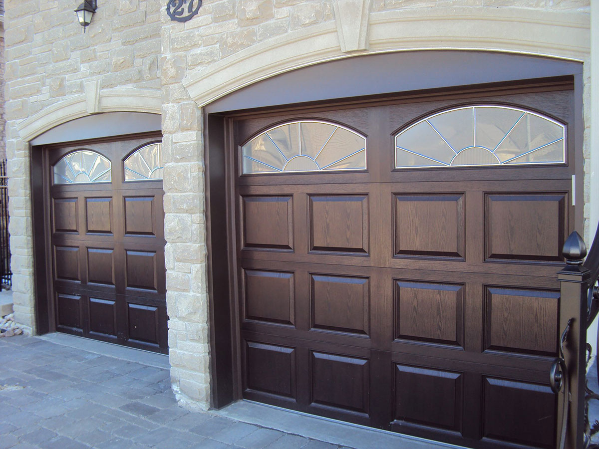 Fiberglass garage doors windows and doors toronto for Garage doors