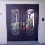 Fiberglass Wrought Iron Doors installed by windowsanddoors.ca in Thornhill