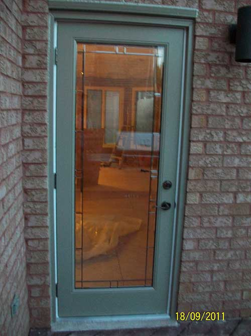 Windows And Doors Toronto Smooth Fiberglass Doors Flush
