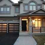 Modern Aluminum Glass Garage Doors by Windows and Doors Toronto