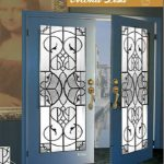 Mona Lisa Stained Glass Fiberglass Doors by Windows And Doors Toronto