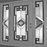 Picasso Stained Glass Fiberglass Doors by Windows And Doors Toronto