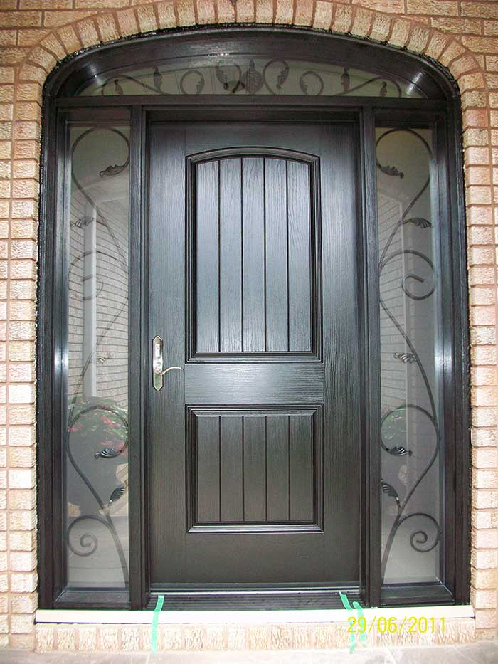 Windows And Dooors Toronto Rustic Doors Fiberglass Rustic