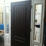 Rustic Door with 2 Side Lites by Windows and Doors Toronto