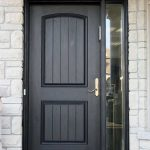 Rustic Doors, Single Solid Door installed by Windows and Doors Toronto