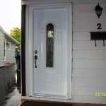 Smooth Door, 8 Panel with Multi Point Locks installed by Windows and Doors Toronto