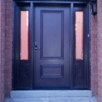 Smooth Door with 2 Side Lites by Windows and Doors Toronto