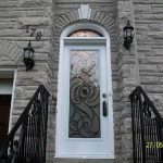 Smooth Door with Transom installed by Windows and Doors Toronto