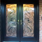 Smooth Julleitta Design Fiberglass Doors with Multi Point Locks Installed by Windows and Doors Toronto