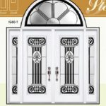 Stella Stained Glass Fiberglass Doors by Windows And Doors Toronto