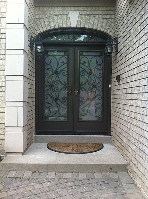 Front Entry Doors Wrought Iron Doors Fiberglass Doors