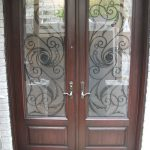 Wrought Iron Doors, Serafina Design with Multi Point Locks Installed by Windows and Doors Toronto in Scarborough