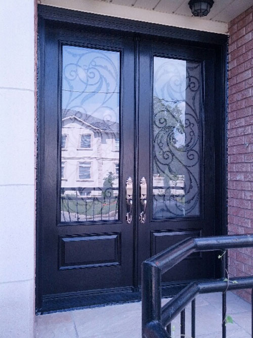 Front Entry Doors Wrought Iron Doors Serafina Design