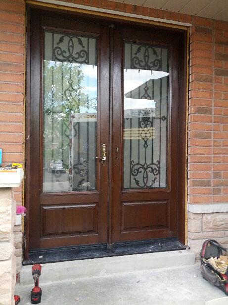 Windows And Doors Toronto Wrought Iron Fiberglass Double