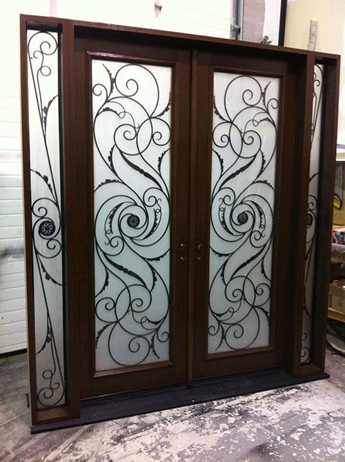 Windows And Doors Toronto Wrought Iron Serafina Design