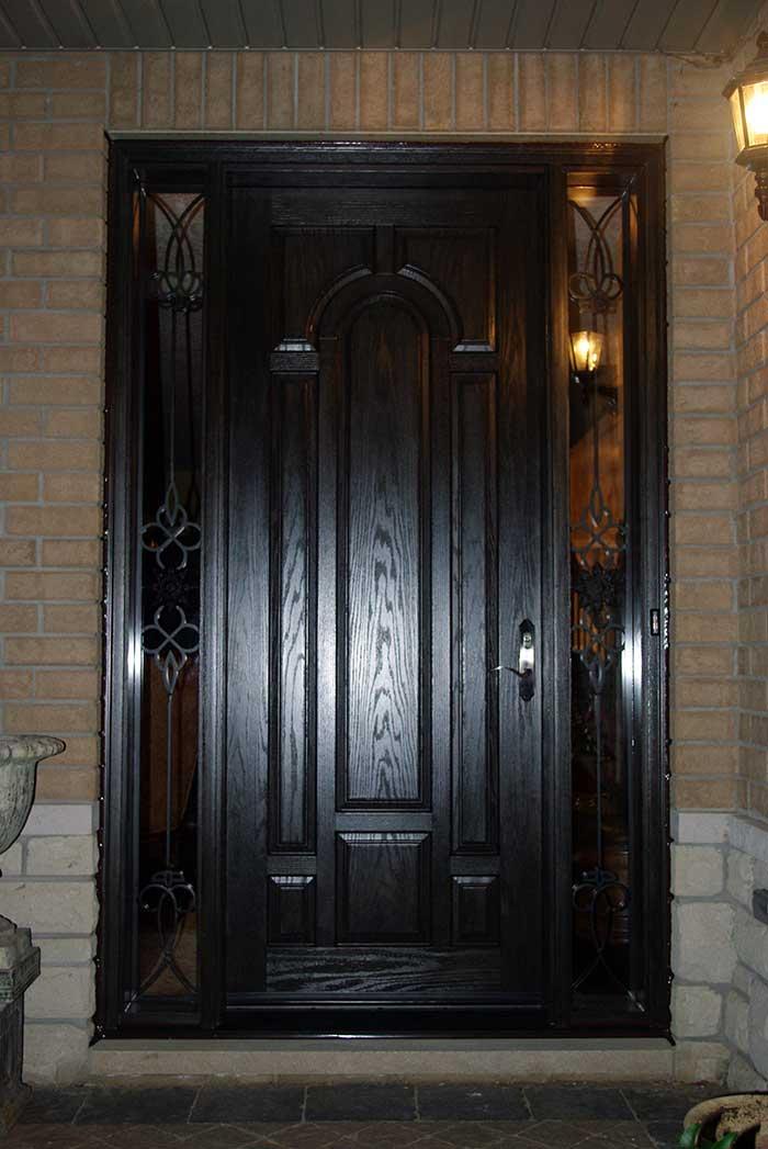 Woodgrain Fiberglass Doors