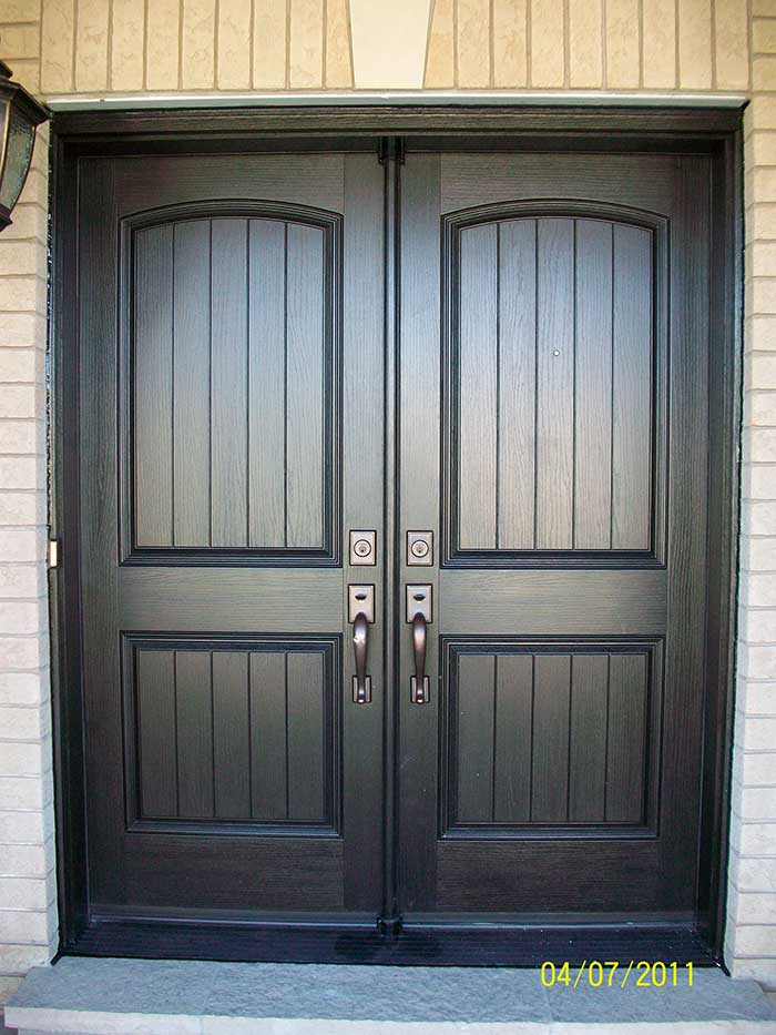 Double Entry Doors Fiberglass fibreglass doors toronto &  unique fiberglass doors how to