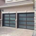 Modern Garage Doors-Aluminium Garage Doors with Door Lites installed in Toronto by modern-doors.ca