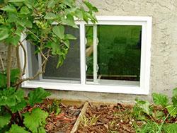 Basement Single Slider Window Windows And Doors Toronto