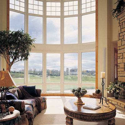 Energy efficient bow windows for Bow window installation