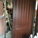 Rustic Fiberglass Door- Arched Fiberglass Door with mult point locks during Manufacturing