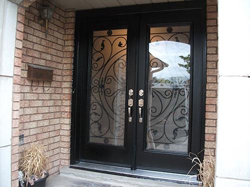 Wrought Iron Doors Front Entry Doors Fiberglass Doors