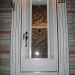 5-Wrought Iron Design Exterior Door Installed by Windows and Doors Toronto