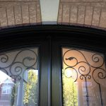 Arch-Design-Fiberglass-Doors-installed-by-Windows And Doors Toronto-Top-View