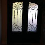 Arch-Design-Fiberglass-Doors-with-Iron-Art-glass-Installed-by-Windows And Doors Toronto