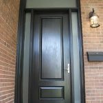 Executive Door, Door with 2 Frosted Side Lites and Transom by Windows and Doors Toronto