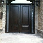 Executive Doors with-2-Side-Lites-and-Matching-Art-Transom-Installed-in-Woodbridge by Windows and Doors Toronto