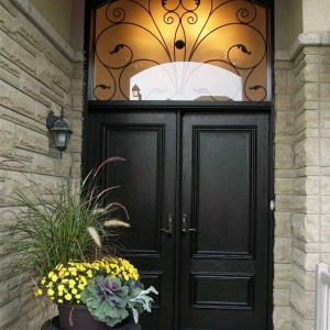 Executive doors with Arch Design Ransom Installed in Richmondhill by Windows and Doors Toronto