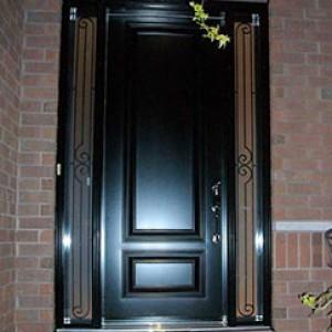 Smooth Fibergass Doors by Executive Fibergass Doors by Rustic Fibergass Doors installed by windowsanddoorstoronto.ca