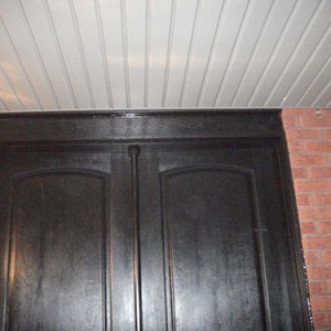 Wood Grain Doors with Multi Point Locks Installation Installed by Windows and Doors Toronto