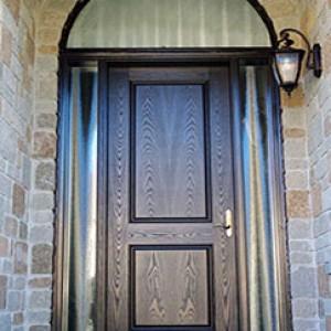 Woodgrain Fiberglass Door by fiberglassdoors
